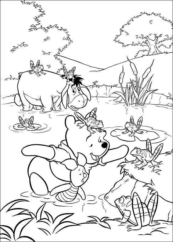114 Winnie The Pooh Printable Coloring Pages For Kids Find On Book Thousands Of