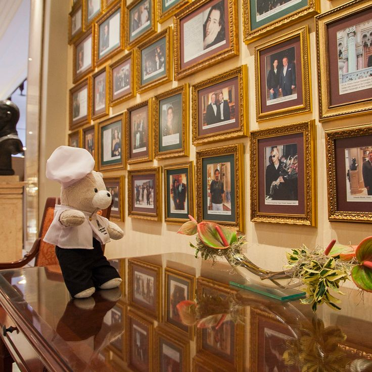 Of course our 'Wall of Fame' filled with pictures of celebrities that have come to Çırağan, caught Teddy's eye. Rightly so, he will ask the General Manager to be a part of this prestigious wall! #ChefTeddy