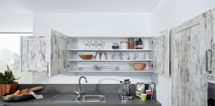 Steigerhout look fronten van Schuller Keukens, verkrijgbaar bij @Tieleman Keukens