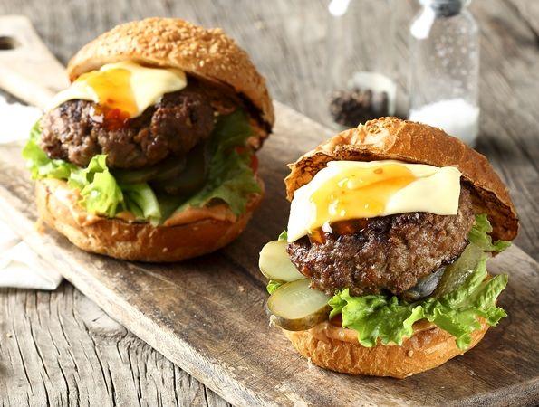 Sappige Burgers Food Recipes Food Lover