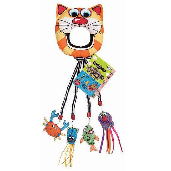Fat Cat 18-inch Doorknob Hanger Cat Toy