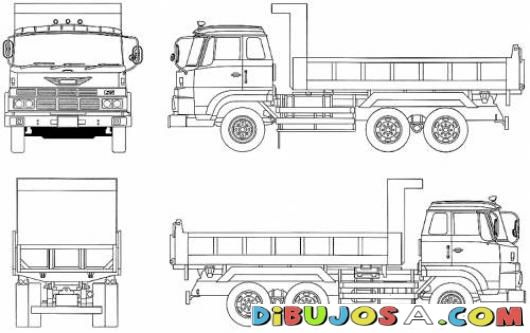 Ganar Dinero Dibujo De Camion Hino El Trabajador Para Ganar Dinero | COLOREAR COLORING PAGES | Ganar Dinero Dibujo De Camion Hino El Trabajador Para Ganar Dinero | dibujosa.com