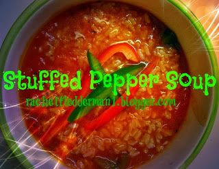 Clean Eating Meets County Girl: Stuff Pepper Soup