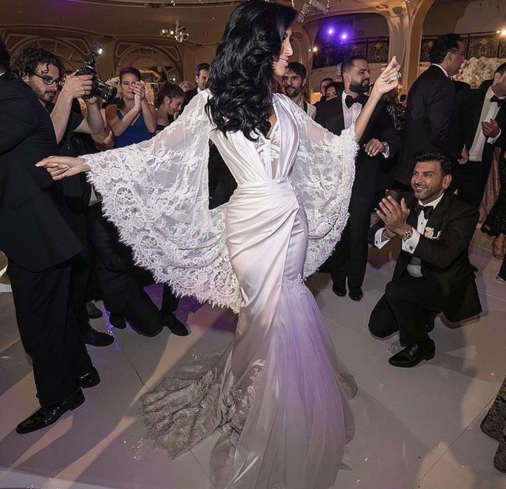 Lily ghalichi. Ryan and Walter gown | Wedding