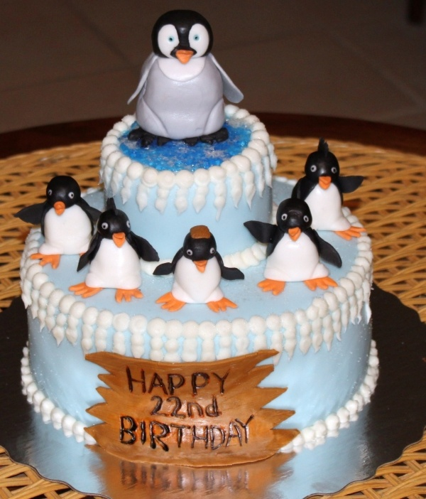 28 Best Cakes Happy Feet Images On Pinterest Cake