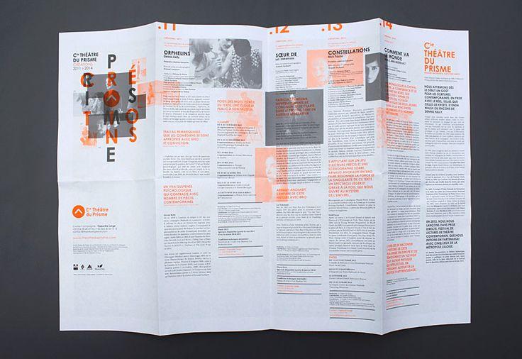 Les produits de l'épicierie, design graphique, Cie Théâtre du prisme, Créations…