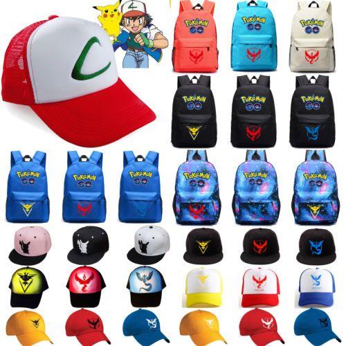 #Pokemon go team valor instinct #mystic #shoulder bag backpacks/ baseball cap gif,  View more on the LINK: http://www.zeppy.io/product/gb/2/172304581025/