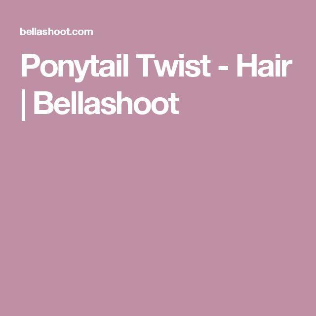 Ponytail Twist - Hair | Bellashoot