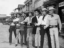 A great photo of many of the Warner Bros. TV Western stars.