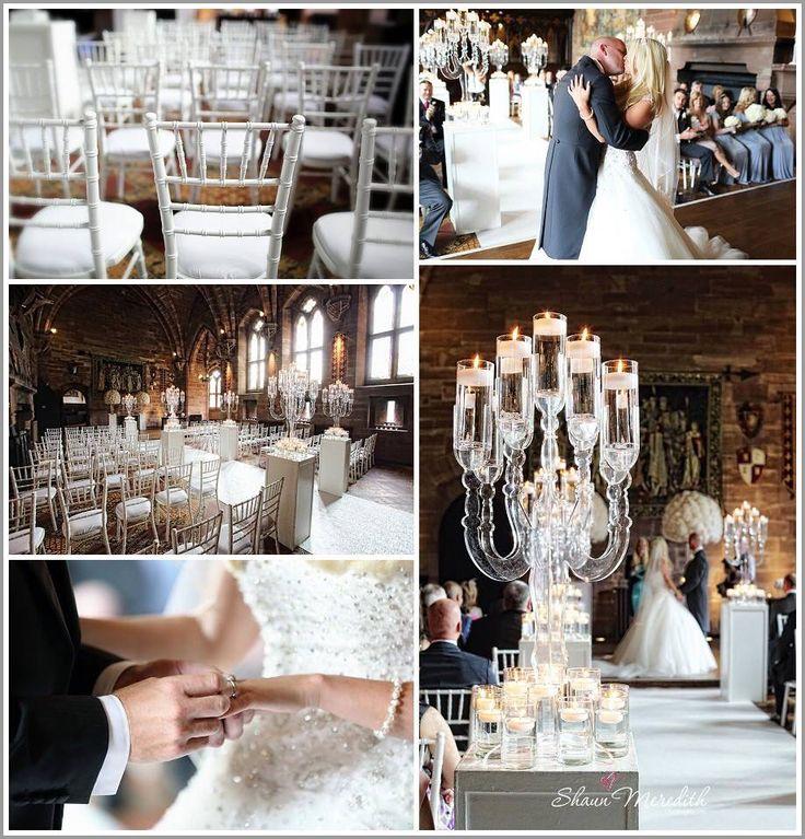 Beautiful #whitewedding #weddinginspiration #castlewedding @peckforton #ladyphotographer #castle #brides #flowers
