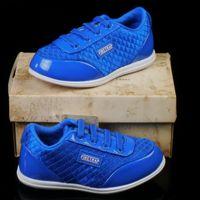 Sepatu anak Firetrap ORIGINAL Biru Glossy Tali Karet