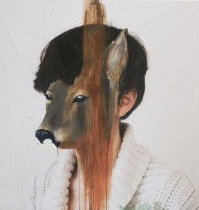 Artists, Drawing Art, Animal Head, Charlotte Caron, Science Journals, Portraits, Painting, Human Body, Charlottecaron
