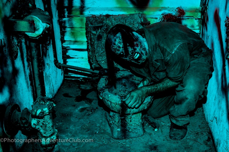 Halloween At The Nest Haunted House In Queen Creek Arizona