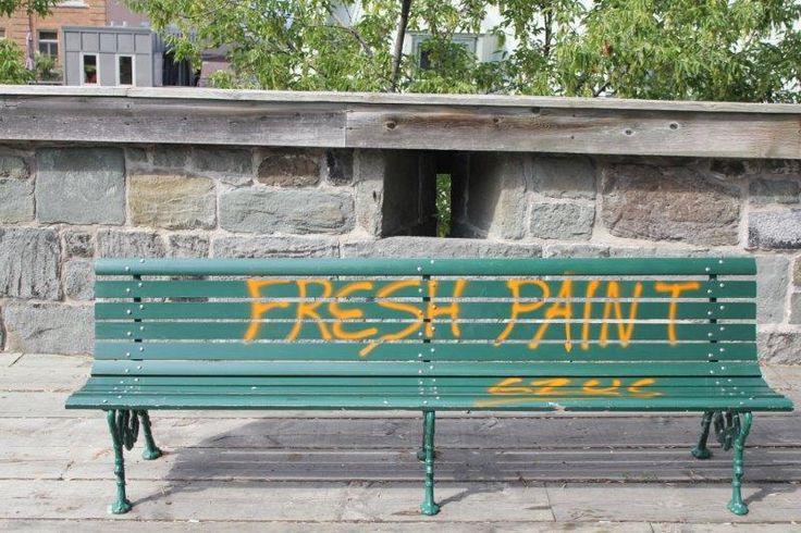 Fresh Paint - Quebec