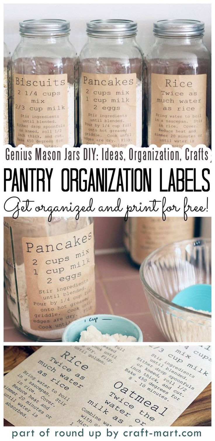 Simply Genius Mason Jars Diy Ideas Organization Crafts Craft Mart Mason Jar Crafts Diy Mason Jar Decorations Diy Jar Crafts
