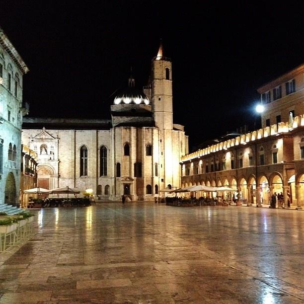 Ascoli , province if Ascoli Piceno -Italy Piazza del Popolo ❤ - @lorenzodeangelis- #webstagram