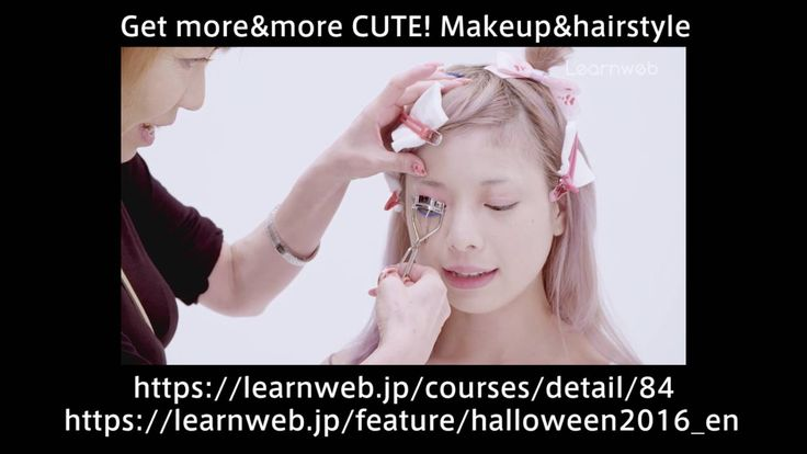 Halloween  Feature  Makeup & hairstyle Free video