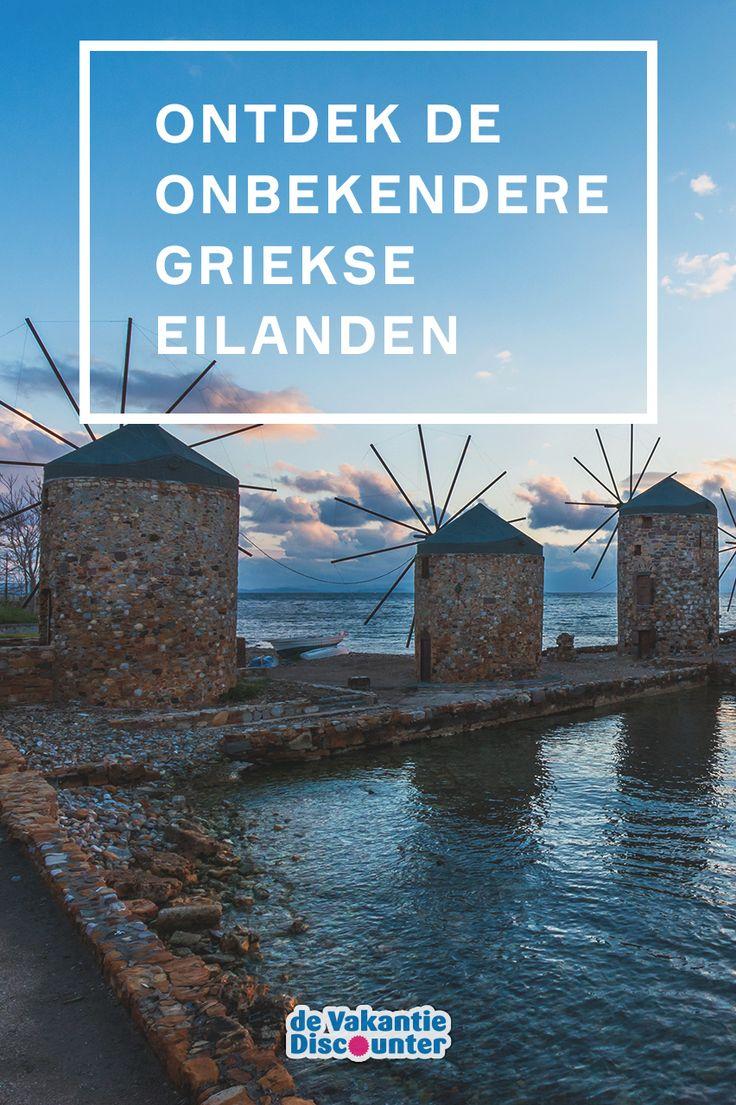 Vergeet Kreta, Rhodos en Kos. Ontdek de minder bekende Griekse eilanden.