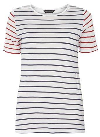 Tall Contrast Stripe Tee