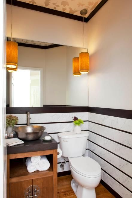 Mirrors are a bathroom necessity, but they often fall by the wayside when it comes to style. Check out these 10 eye-catching bathroom mirrors.
