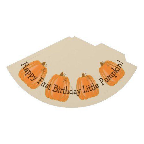Little Pumpkin First Birthday Hat Birthday Gifts Party Celebration Custom Gift Ideas Diy