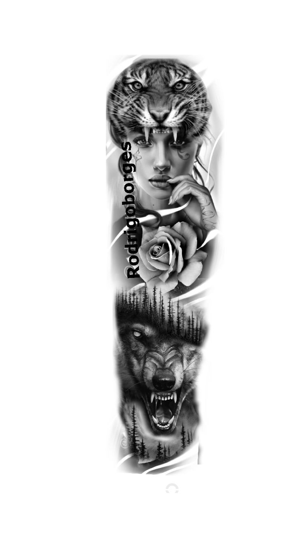 Family Tattoo Designs, Family Tattoos, Manga Tattoo, Tattoo Drawings, Face Tattoos For Women, Tattoos For Guys, Girl Face Tattoo, Girl Tattoos, Lion Sleeve