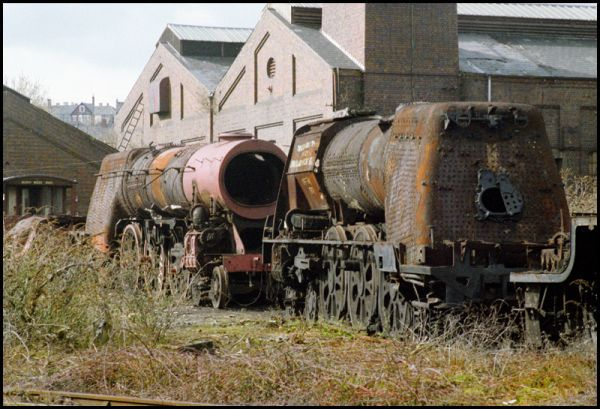 The Train Graveyard that Helped Preserve Britain's Steam Heritage (PHOTOS)