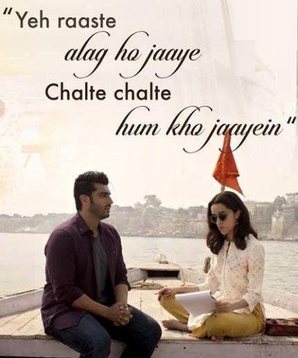 The beautiful lyrics of #PhirBhiTumkoChaahunga penned by Manoj Muntashir and sung by Arijit Singh & Shashaa Tirupati.   The upcoming Half Girlfriend Movie is based on the novel of Chetan Bhagat.  #HalfGirlfriend.