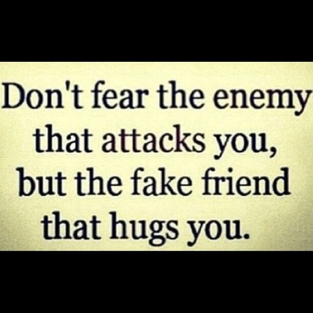 Tired Of Fake People And Liars!