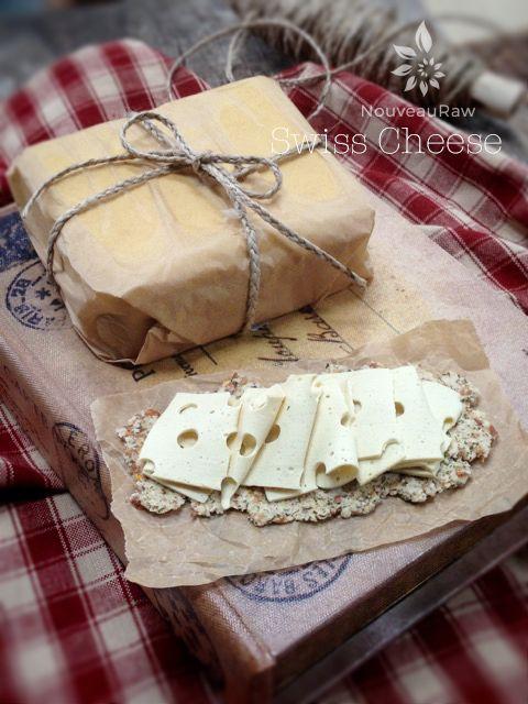 Swiss Cheese (raw, vegan, gluten-free)