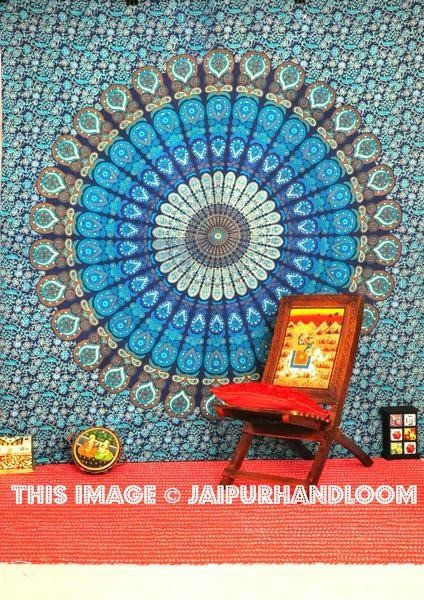 psychedelic wall hanging cheap dorm tapestry boho dorm room bedding