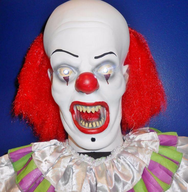 2014 Stephen King IT Pennywise the Clown Lifesize Animated Halloween Prop #MorbidEnterprises #HalloweenProp