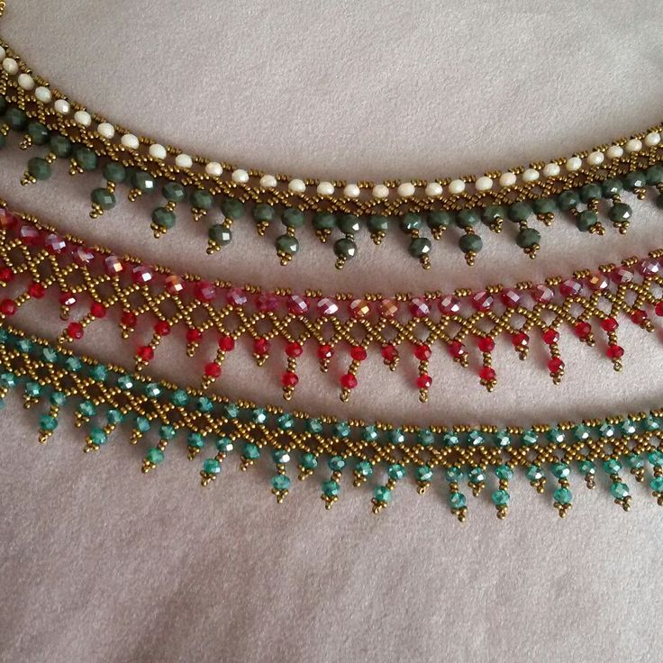 Beautiful beaded necklaces