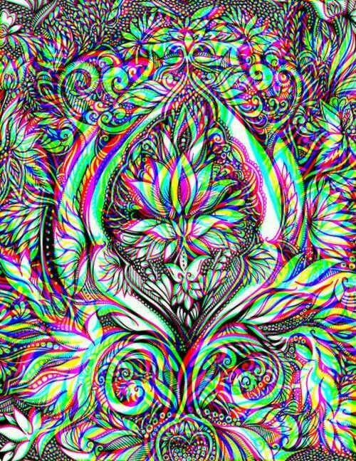 Image de wallpaper, drugs, and lsd