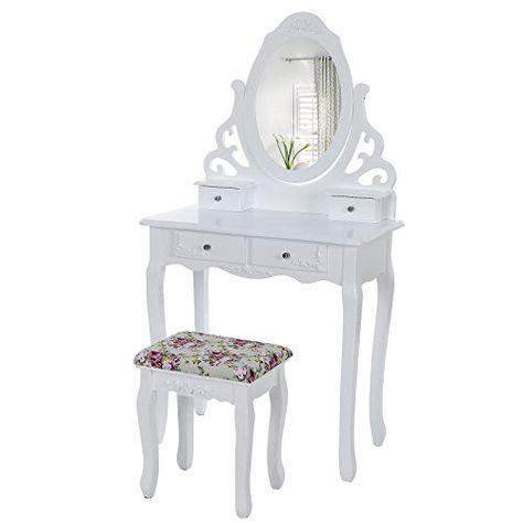 die besten 25 schminktisch mit spiegel ideen auf. Black Bedroom Furniture Sets. Home Design Ideas