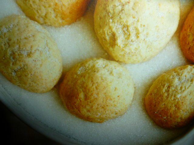 Biscotti di ricotta - con rum e limone -
