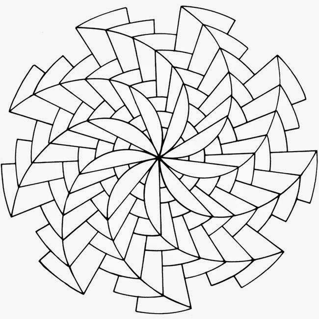 Dit zijn mooie startvoorbeelden om een Zendala te maken.   Vul deze vormen met zentangle en je zal verrast worden door het resultaat.     ...