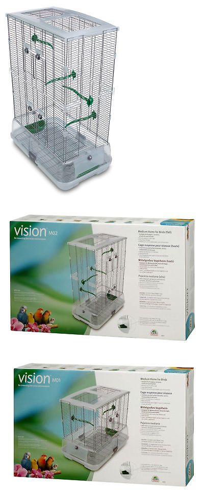 Cages 46289: Vision By Hagen Double Vision Bird Cage With Small Wire -> BUY IT NOW ONLY: $67.99 on eBay!