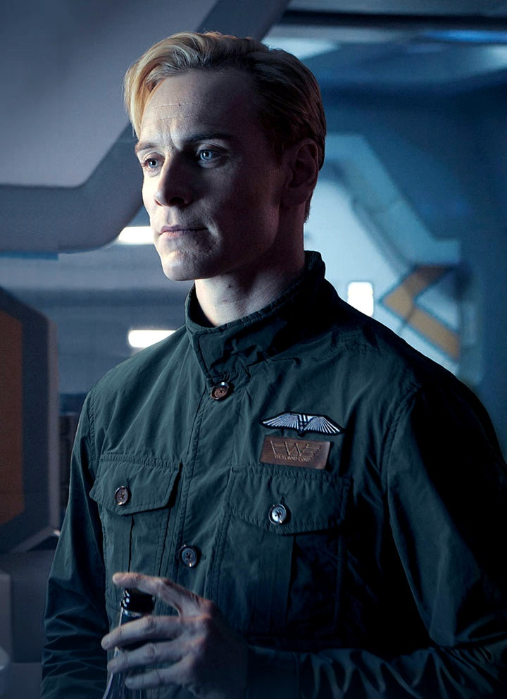 Michael Fassbender as David in Prometheus he is so good in this