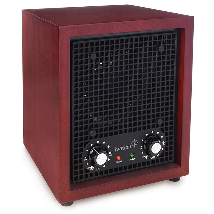 2. Ivation Ozone Generator Air Purifier, Ionizer & Deodorizer