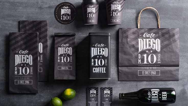 'Cafe Diego' by Backbone Branding