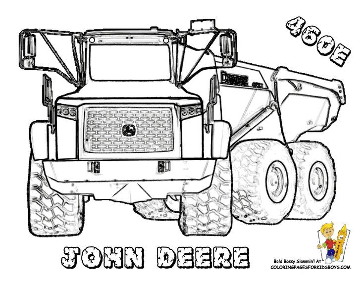 32 best Tractors and construction images on Pinterest Coloring