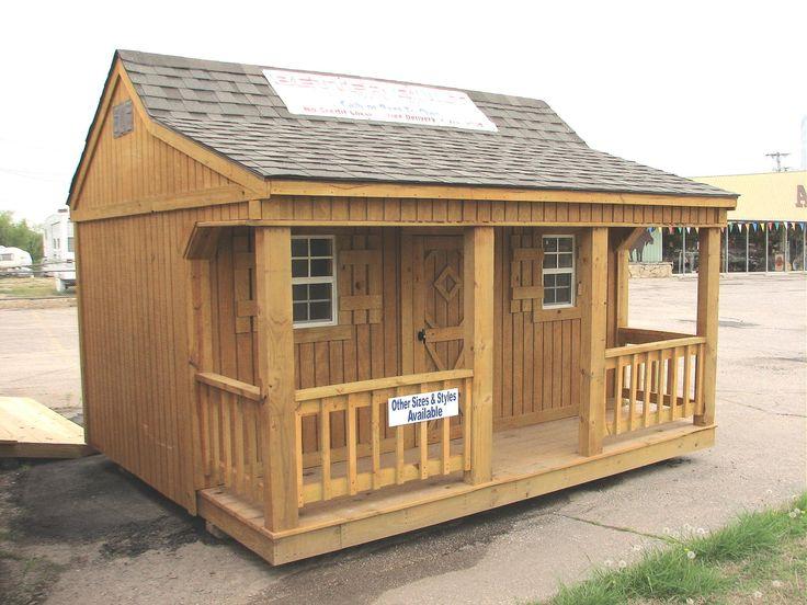 Better Built  Mini Cottage Storage Building