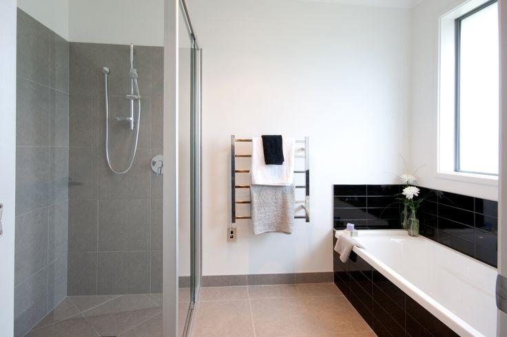 Family bathroom, complete with bathtub