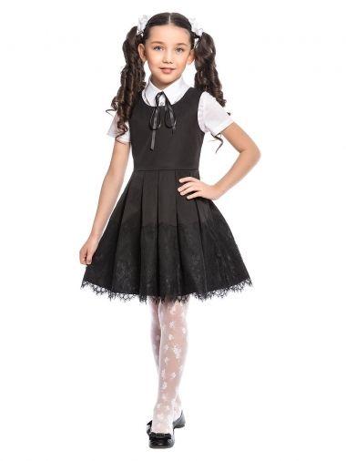 Школьный сарафан ASQ001607, цвет чёрный