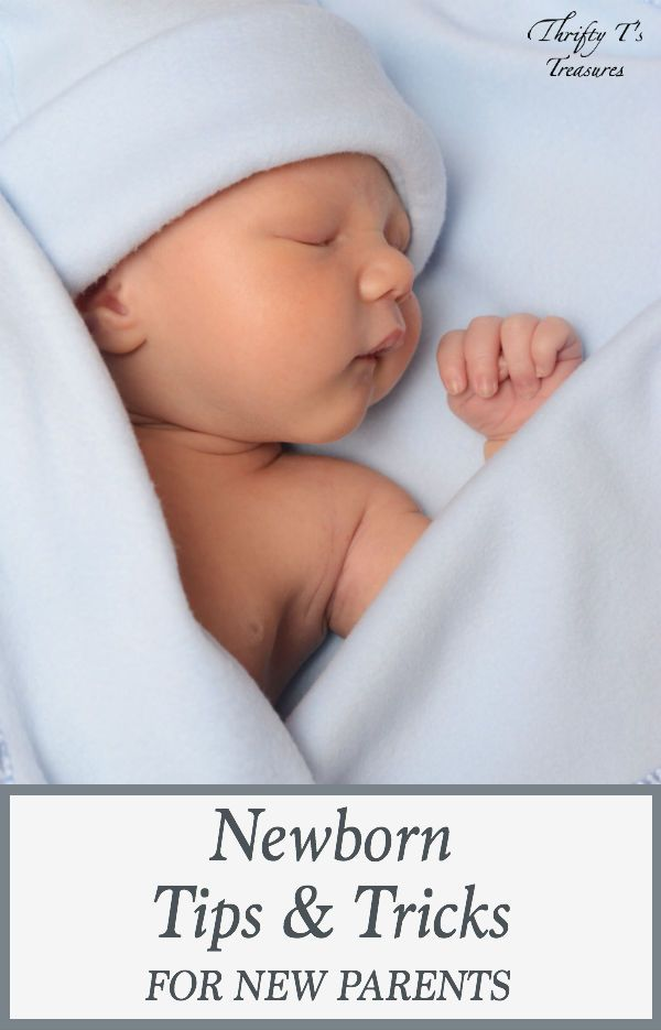The pregnancy is over and you've finally brought your new baby boy (or baby girl) home from the hospital. But now what? Take a sigh of relief because you're going to love these newborn tips and tricks for new parents!