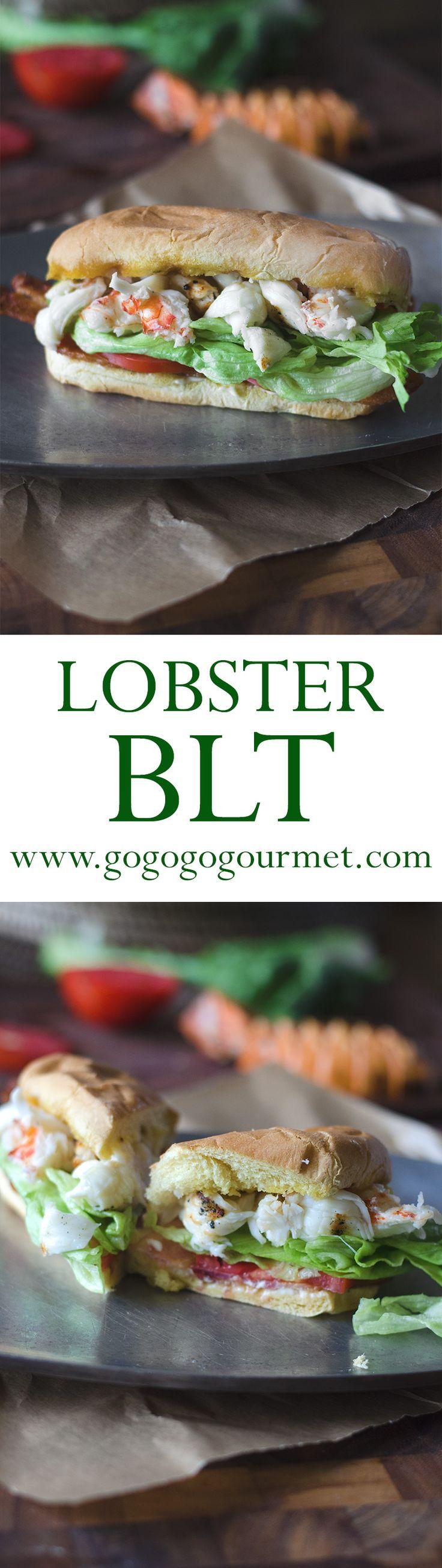 Lobster BLT Sandwich   Go Go Go Gourmet @gogogogourmet