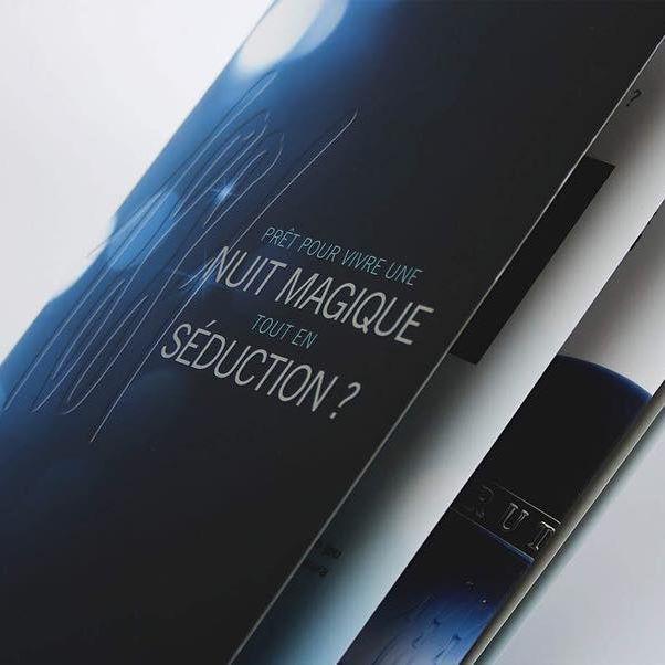 Cover brochure   Cerruti Bella Notte (2014)   Creative direction and Print @studio.blacksensitive  #perfumes #beauty #coty #brochure #masterbrand