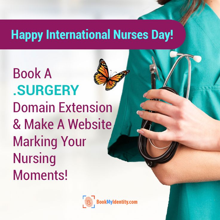 Have got sweet & sour memories being a nurse? This International Nurses Day, tell it to the world, book a .SURGERY domain extension with BookMyIdentity now!