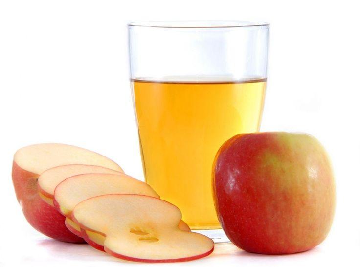 Бальзамы для волос на основе яблочного уксуса.